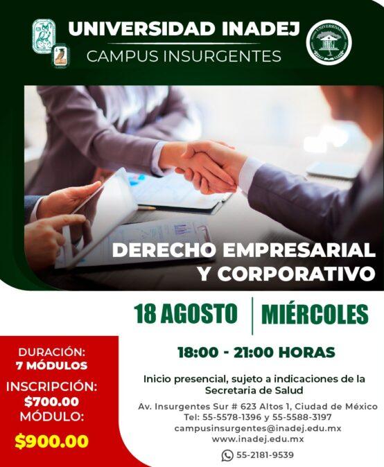 Derecho Empresarial y Corporativo
