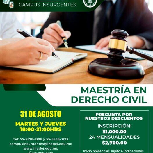 Maestría en Derecho Civil