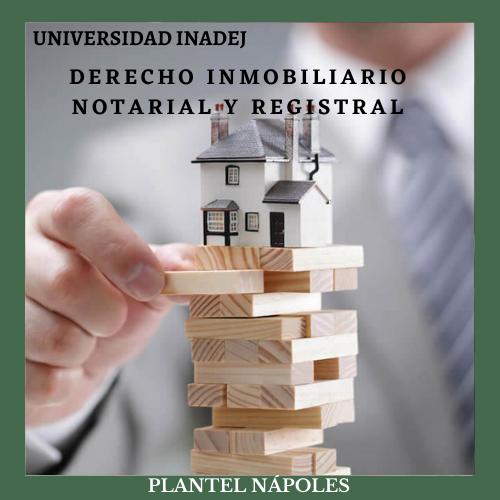 Derecho Inmobiliario, Notarial y Registral